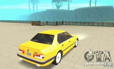 BMW 750I E32 для GTA San Andreas
