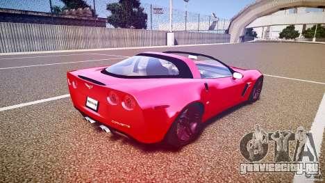 Chevrolet Corvette Z06 1.2 для GTA 4 вид сверху