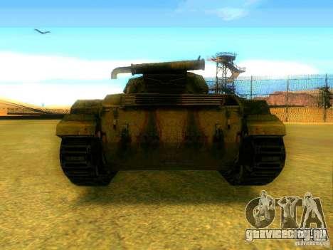 Танк из Игры S.T.A.L.K.E.R для GTA San Andreas вид сзади слева