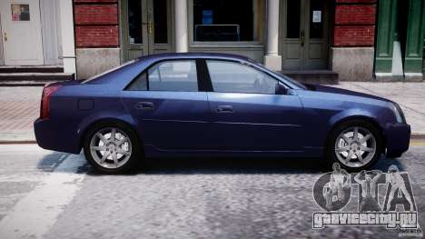 Cadillac CTS для GTA 4 вид сбоку