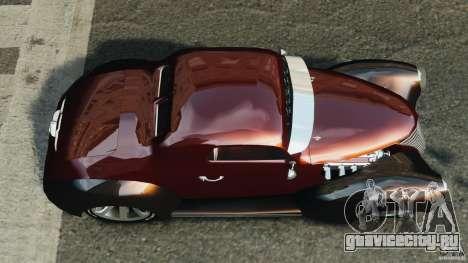 Walter Street Rod Custom Coupe для GTA 4 вид справа