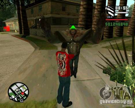 Танк из Left 4 Dead. для GTA San Andreas