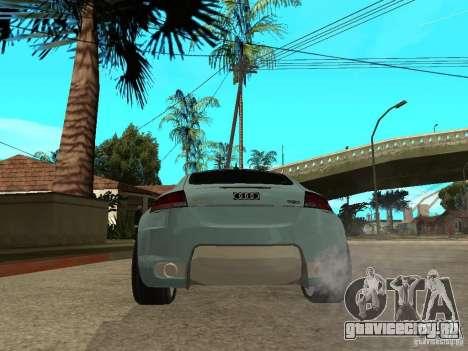 Audi TT 2007 Tuned для GTA San Andreas вид сзади слева