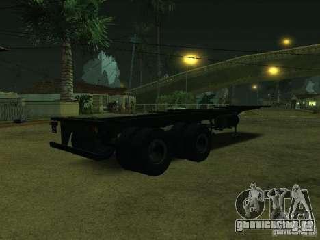 Контейнеровоз + Совтрансавто для GTA San Andreas вид сзади слева