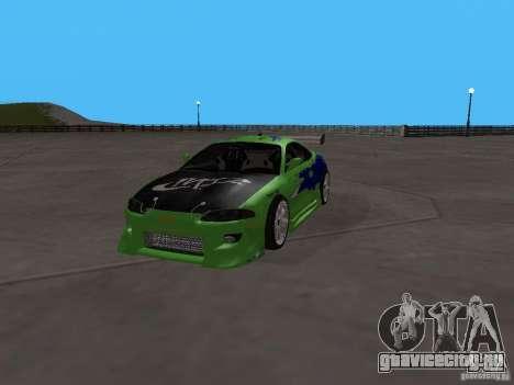 Mitsubishi Eclipse Tunable для GTA San Andreas вид сзади