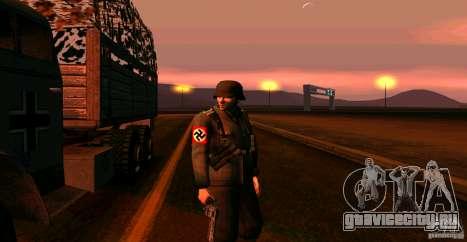 Солдат Вермахта для GTA San Andreas