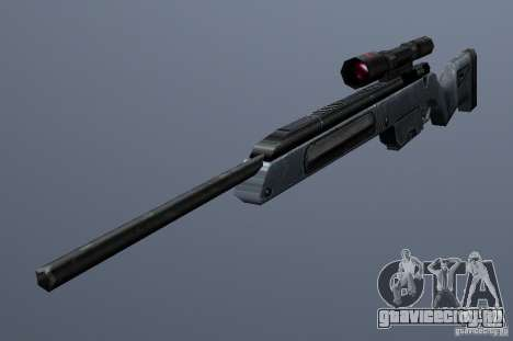 Steyr Scout для GTA San Andreas второй скриншот