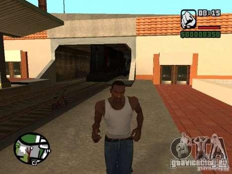 Поезд combine из игры Half-Life 2 для GTA San Andreas вид справа