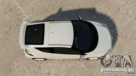 Honda Mugen CR-Z v1.1 для GTA 4 вид справа