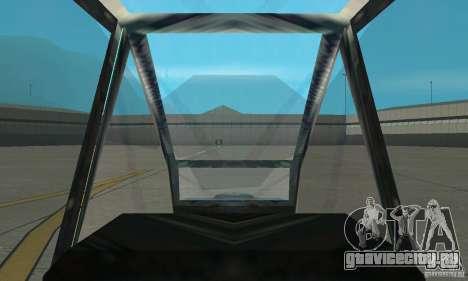АН-64 Apache для GTA San Andreas вид справа