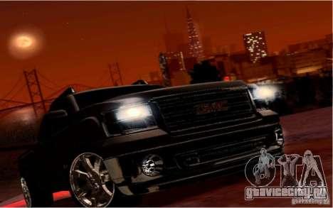 GMC Sierra 2011 для GTA San Andreas вид сверху