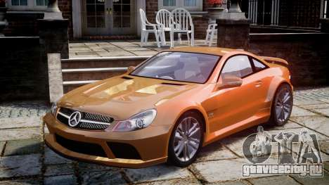 Mercedes-Benz SL65 AMG Black Series для GTA 4