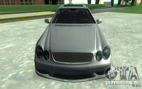 Mercedes-Benz CLK55 AMG для GTA San Andreas вид сзади
