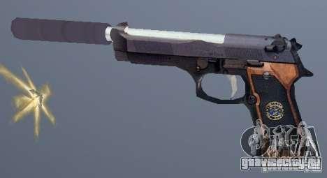 Beretta SD для GTA San Andreas второй скриншот