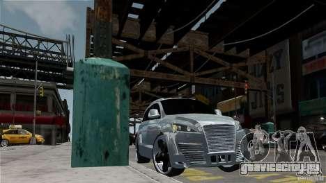 Audi Q7 для GTA 4 вид сзади