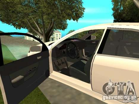 Honda Accord Type S 2003 для GTA San Andreas вид сзади