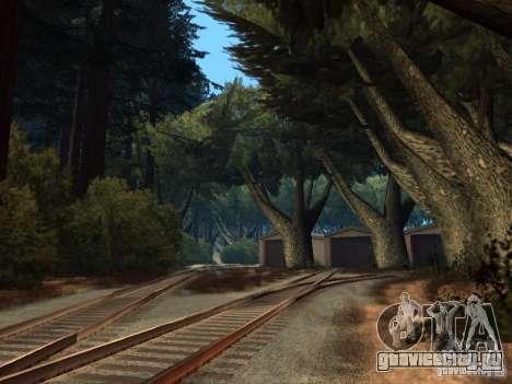 Лес в Las Venturas для GTA San Andreas девятый скриншот