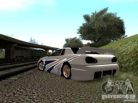 Винил с BMW M3 GTR в Most Wanted для GTA San Andreas вид сбоку