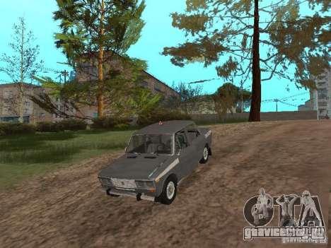 ВАЗ 21063 Учебная для GTA San Andreas вид изнутри