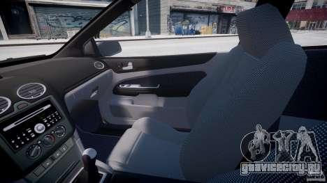 Ford Focus ST (X-tuning) для GTA 4 вид изнутри