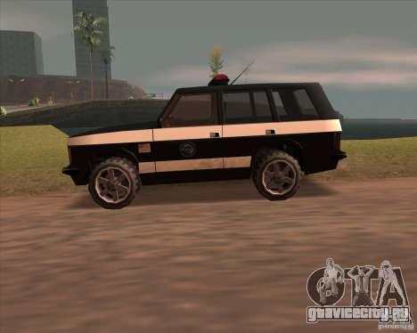 Huntley Police Patrol для GTA San Andreas вид слева