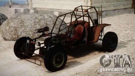 Half Life 2 buggy для GTA 4 вид справа