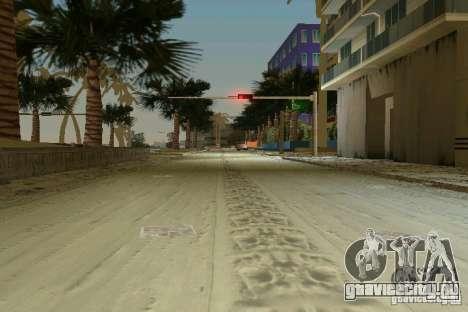 Snow Mod v2.0 для GTA Vice City четвёртый скриншот