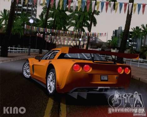 Chevrolet Corvette C6 Z06R GT3 v1.0.1 для GTA San Andreas вид справа