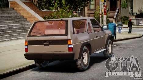 Nissan Terrano для GTA 4 вид сбоку
