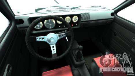 Volkswagen Golf Mk1 для GTA 4 вид справа