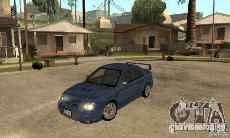 Subaru Impreza WRX STi - Stock для GTA San Andreas