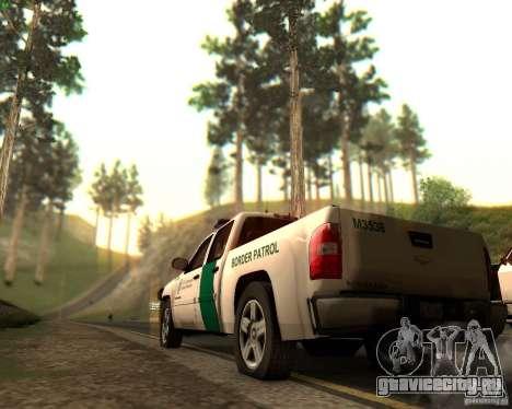 Chevrolet Silverado Police для GTA San Andreas двигатель