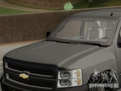 Chevrolet Silverado 2500HD 2013 для GTA San Andreas вид сбоку
