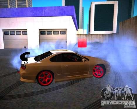 Nissan Silvia S15 face S13 V.2 для GTA San Andreas вид слева
