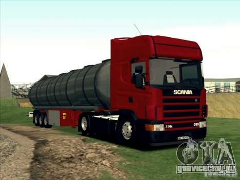 Scania 114L для GTA San Andreas