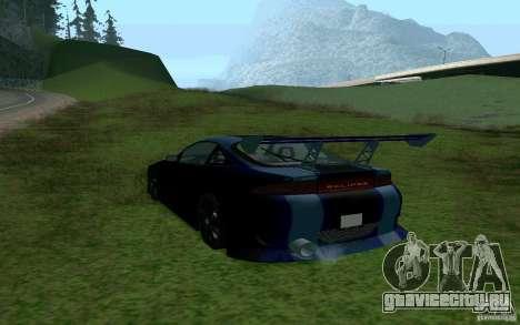 Mitsubishi Eclipse 1999 Sport для GTA San Andreas вид слева