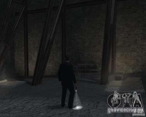 Flashlight for Weapons v 2.0 для GTA 4 пятый скриншот
