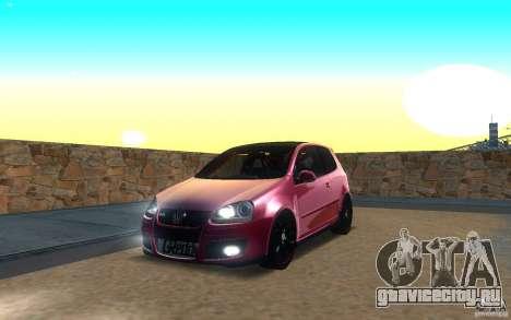VolksWagen Golf GTI MK5 для GTA San Andreas