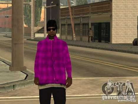 Новые скины Баллас для GTA San Andreas пятый скриншот
