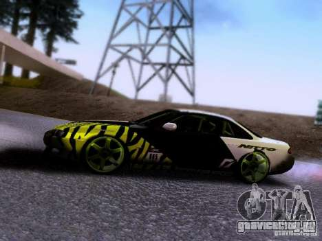 Nissan Silvia S14 Matt Powers v3 для GTA San Andreas вид сзади