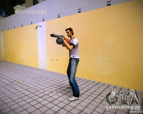 ППШ-41 для GTA Vice City четвёртый скриншот