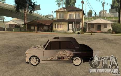 ВАЗ 2106 Hard Tuned для GTA San Andreas вид слева