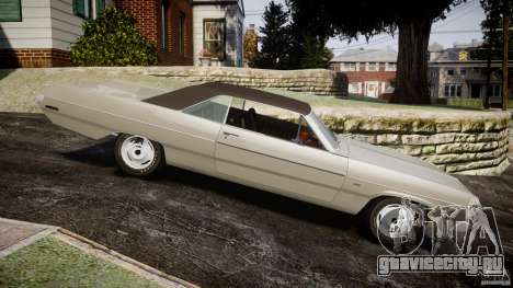 Plymouth Scamp 1971 для GTA 4 вид слева
