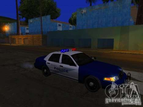 Ford Crown Victoria Belling State Washington для GTA San Andreas вид снизу