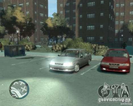 Daewoo Nexia DOHC для GTA 4 вид справа