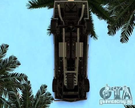 EON Stallion GT-A для GTA San Andreas вид изнутри