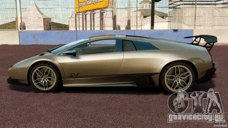 Lamborghini Murcielago LP670-4 SV [EPM] для GTA 4 вид слева