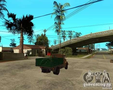 Зил-433362 Extra Pack 1 для GTA San Andreas вид изнутри