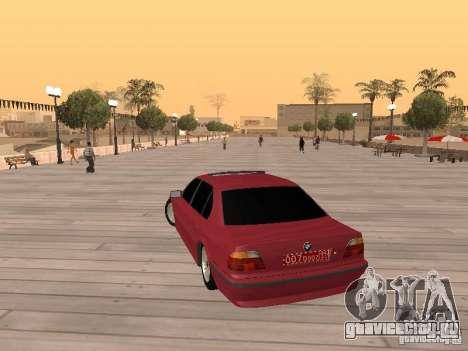 BMW 750iL e38 Дипломат для GTA San Andreas вид слева