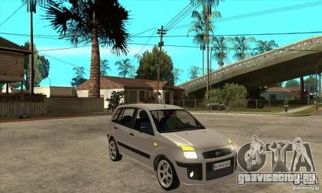 Ford Fusion 2009 для GTA San Andreas вид сзади